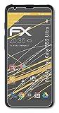 atFolix Panzerfolie kompatibel mit Archos Core 55S Ultra Schutzfolie, entspiegelnde & stoßdämpfende FX Folie (3X)