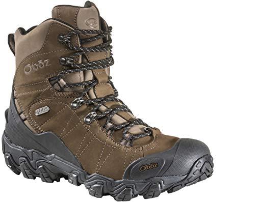 "Oboz Bridger 8"" Insulated B-Dry Hiking Boot - Men's Walnut 13 Wide"