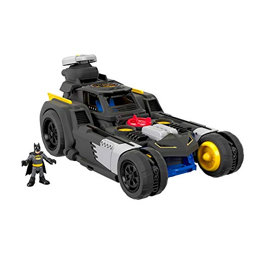 Imaginext- Fisher-Price Batmovil Transformable (Mattel GMH33)