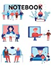 Online Education College Ruled Notebook: Perfect Notebook Or Journal For College, School Or Other Projects
