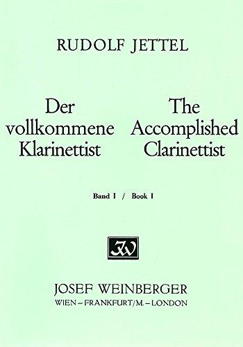 WEINBERGER(ワインベルガー出版)『イエッテル クラリネット上級者のための教本 第一巻』
