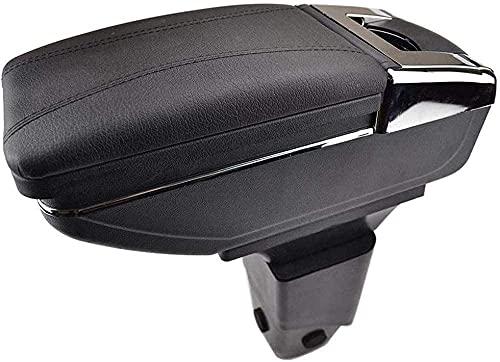 AJJZX Boîte de Rangement de boîte d'accoudoir de Voiture d'une Seule pièce, adaptée à Peugeot 206 207, boîte de Rangement d'accoudoir, accoudoir Central, boîte à Gants, pièces Automobiles de Palette