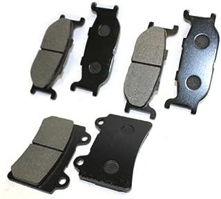 Caltric FRONT REAR BRAKE Pads Fits YAMAHA ROAD STAR 1600 SILVERADO LTD XV1600 XV-1600 1999-2003