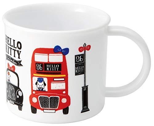 Skater 44598-9-KE4A Sanrio Hello Kitty London Tasse en Plastique pour Enfant du Japon