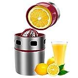 Extracteur de jus manuel orange et citron en acier inoxydable