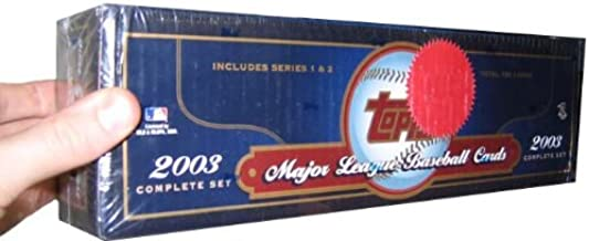2003 topps baseball factory set