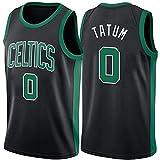 YCQQ Boston Celtics # 0 Jersey de Baloncesto para Hombre Jayson Tatum, 2021 All-Star sin Mangas de Ropa Deportiva y Camisa de Manga Corta, Más cómodo, Mejor Calidad(Size:S,Color:G2)
