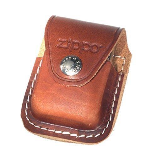 Orig. Zippo Tasche braun, Leder Gürteltasche, Zippo Bag