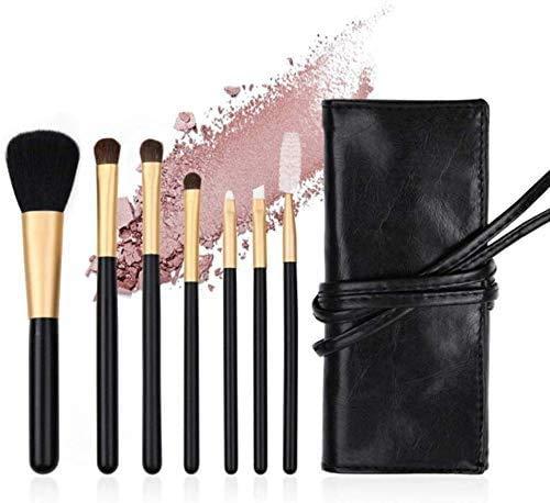 XHDMJ Beauty Tools Makeup Brush Set, Soft and Cruel-Free Synthetic Face Eye Shadow Brush 7Pcs