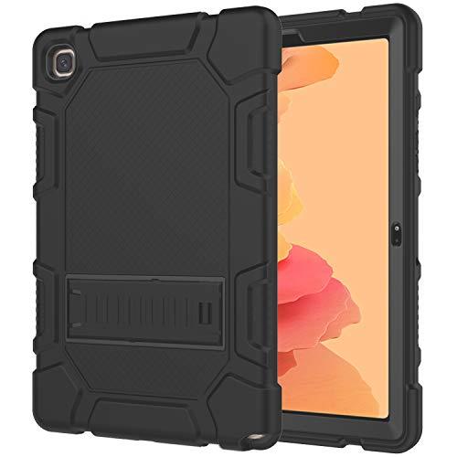AZZSY Case for Samsung Galaxy Tab A7 10.4 Inch 2020 (SM-T500/T505/T507), Slim Heavy Duty Shockproof Rugged High Impact Protective Case for Galaxy Tab A7 10.4 inch 2020 Release,Black