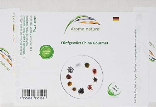 Aroma natural Chinagewürz Gourmet 225 g, 1er Pack (1 x 225 g)