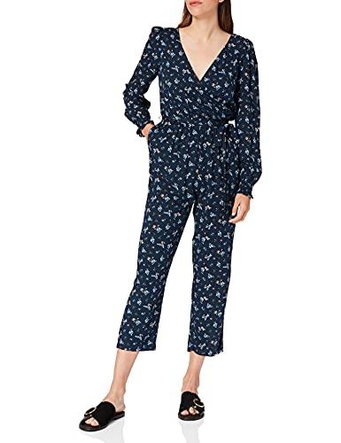 Springfield Mono Largo Estampado Pantalones, Azul Claro, L