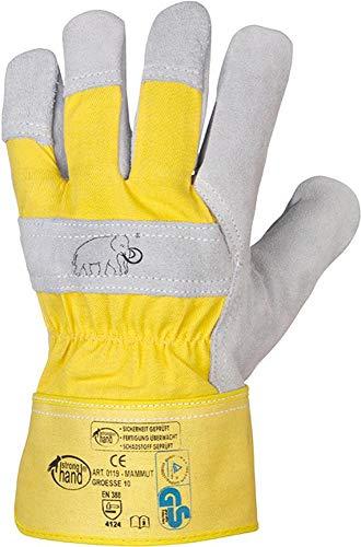 Rindspaltleder-Handschuh MAMMUT Gr. 11 (12 Paar)
