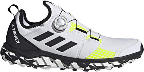 adidas Terrex Agravic Boa, Zapatillas de Trail Running Hombre, NONDYE/NEGBÁS/Amasol, 40 2/3 EU