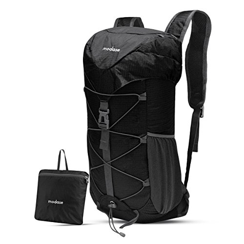 modase 40L Leichte Packable Reiserucksack Wanderrucksack, Utra Leicht Outdoor Sport Rucksäcke Tasche, Multi-Funktionaler Stopfbarer Wasserdichter Casual Camping Tagesrucksack