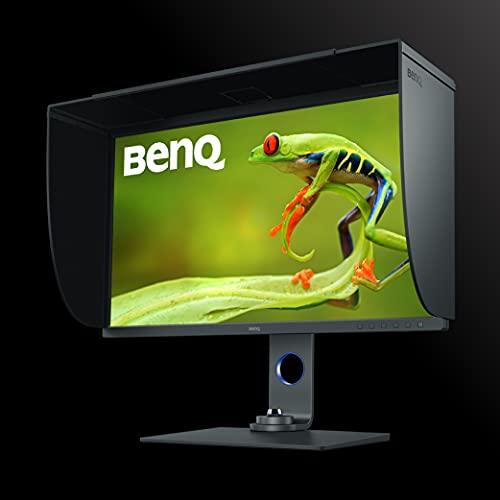 "BenQ SW271C 27"" 4K Photo & Video Editing Monitor | 4K UHD | IPS | 99% Adobe RGB, 100% sRGB/Rec. 709, 90% DCI-P3/Display P3 | AQCOLOR Tech | Hardware Calibration |10 bit color depth | HDR10/HLG | USB-C"