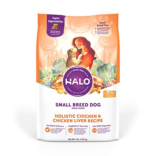 Halo Natural Dry Dog Food - Small Breed Recipe - Premium and...