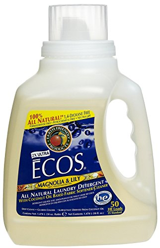 Earth Friendly Products Liquid Laundry Detergent - 50 oz - Magnolia & Lily