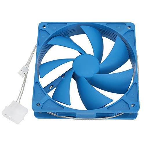 Ventilador enfriador de PC de 120 mm,ventilador de disipador de calor silencioso para carcasas de computadora,enfriadores de CPU,rodamiento de larga duración,proporciona una excelente ventilación
