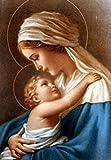 5D Diamond Painting Virgin Mary Kids Christian Religion Jesus Christ Diamond Embroidery Maternal Love Child Religious 12X16Inch