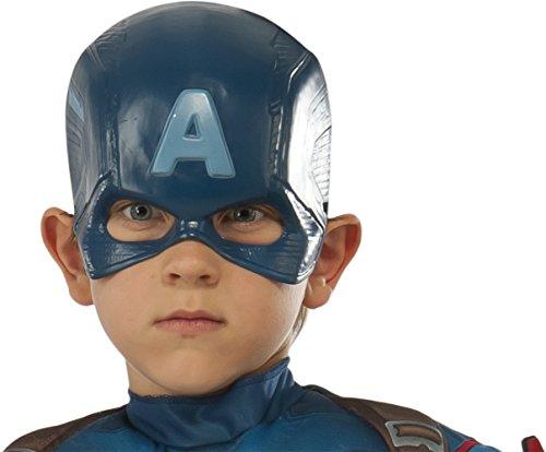 Avengers – Masque de Captain America pour Enfant (Rubie's 36238)