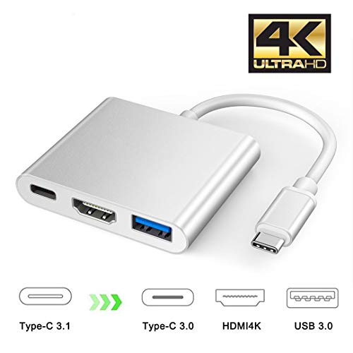 USB Type-C to HDMI変換アダプタ,XVZ USB C HDM...