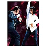 JFGJF Pulp Fiction Quentin Tarantino Poster und Drucke