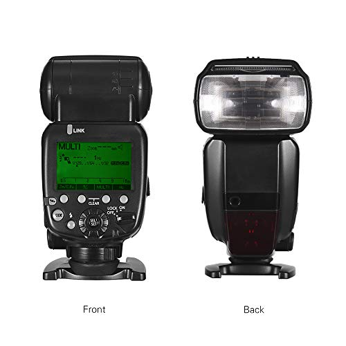 Flash Speedlite,Andoer FK600EX-RT GN60 E-TTL On-Camera Flash 2.4G Wireless Radio Master Slave 1/8000 HSS for Canon EOS Cameras