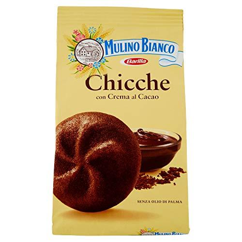 Mulino Bianco Dolcetti Chicche con crema al Cacao, 200 gr