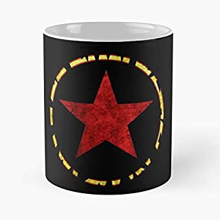 Star Red Wars Conflict Ceramic Coffee Mugs, Funny Gift