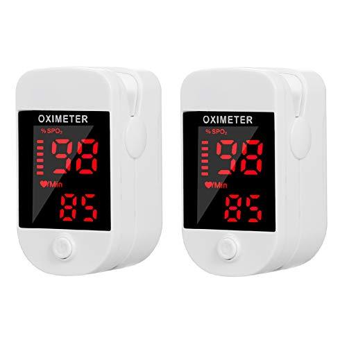 (70% OFF Deal) Blood Oxygen Sensor Saturation Mini Pulse Rate Tester 2 Pcs $12.99