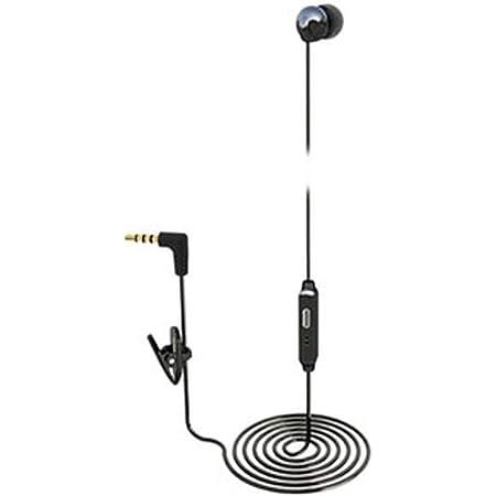 多摩電子工業 inG スマートフォン用モノラルハンズフリー ブラック TSH36SMK