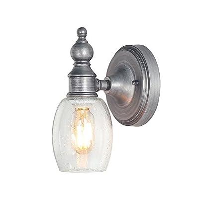 LOG BARN 3-Light Vanity Lighting Wall Lights Aged Steel Wall Sconces