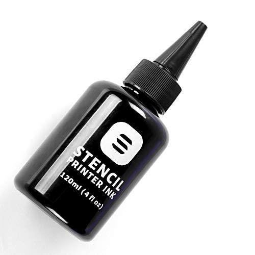 Black RetroDeco tattoo stencil ink for EcoTank Inkjet