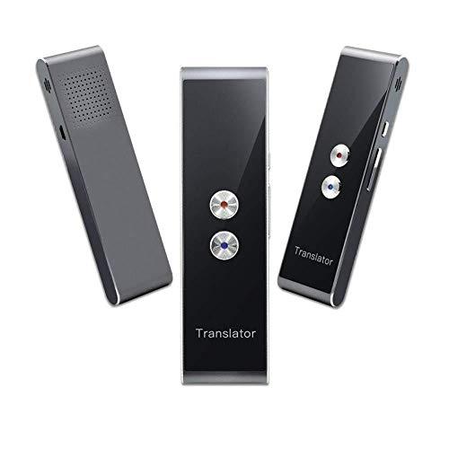 Futursd Traductor inalámbrico portátil Inteligente en Tiempo Real Soporte de traducción de Voz instantánea 34 Idiomas Dispositivo de traducción de Voz