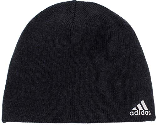 adidas Men's Paramount Beanie, Black - Night Grey/Tech Steel, ONE SIZE