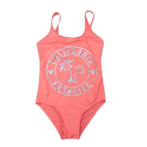 PLENTOP💗 Toddler One Piece Bathing Suit,Baby Alive Swimsuit for Girls,Girls 2 Piece Swimsuits 7-16,Girls 4T Underwear Bikini,Girls Bathing Suits 14-16 Orange