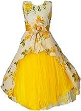 My Lil Princess Baby Girls Birthday Frock Dress_Cute Pastel_Georgette Fabric_2-12 Years