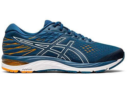 ASICS Men's Gel-Cumulus 21 Running Shoes, 10M, MAKO Blue/White