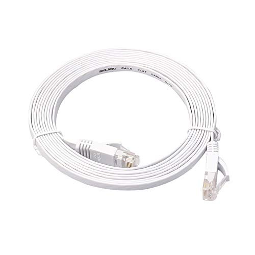WangQianNan Cable Ethernet sólido Ethernet Cat6 Internet Red de Internet Cable Plano...