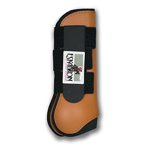 ESKADRON Protection Boots Gamaschen (hinten), cognac, Warmblut