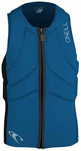O'Neill Slasher Kite Veste de Protection Anti-Chocs pour Homme Noir/Bleu Taille S