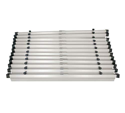 """Adir""""36"""" Blueprint File, Aluminum Hanging Clamps, 6 Pack (6046)"""", Gray"""