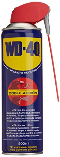 WD-40 340343 Lubricante multiusos, doble acción (500 ml), C