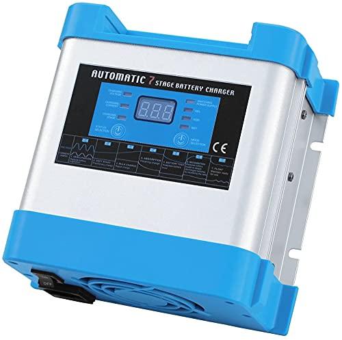 LVYE1 MRMF Inteligente Pantalla Digital Batería De Coche Cargador Rápido 12V 20A Ácido De Plomo Coloidal Acumulador Cargador