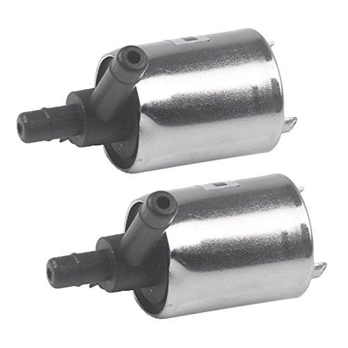 B Baosity 2x Mini Elettrica elettrovalvola/Solenoid Valve Per Acqua Aria Gas N/C 12V DC