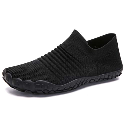 ZOEASHLEY Barfußschuhe Damen Outdoor Fitnessschuhe Minimalistische Sneaker Traillaufschuhe Gr.36-42