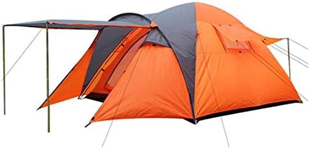 ZMJY Tente de Camping pour 3-4 Personnes, Tente de Loisirs Tente de Loisir pour Jardin, pêche, Pique-Nique