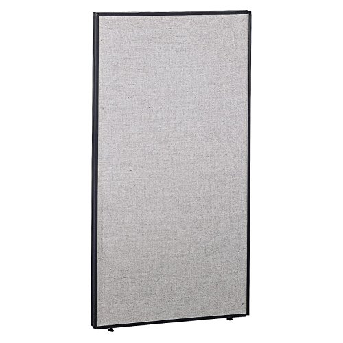 Bush Business Furniture ProPanels - 66H x 36W Panel in Light Gray/Slate