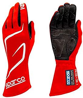 Sparco Land RG-3.1 Racing Gloves 01308 (Size 11, Red)